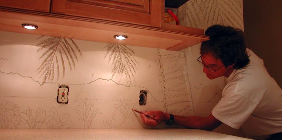 Kitchen Remodel Tile Mural Design