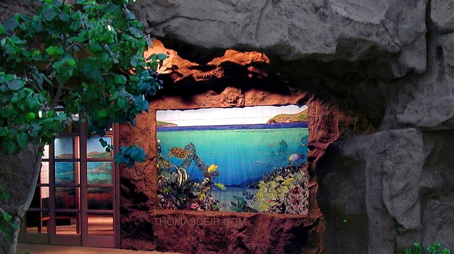 Tile Mural Hanauma Bay Hawaii Nature Park Entry