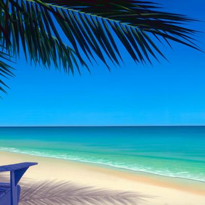 Hawaii Paintings Tropical Vacation