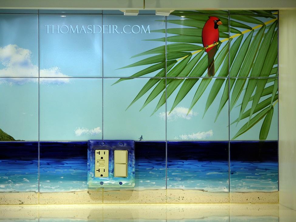 Hawaii Beach Panorama Kitchen Design Details