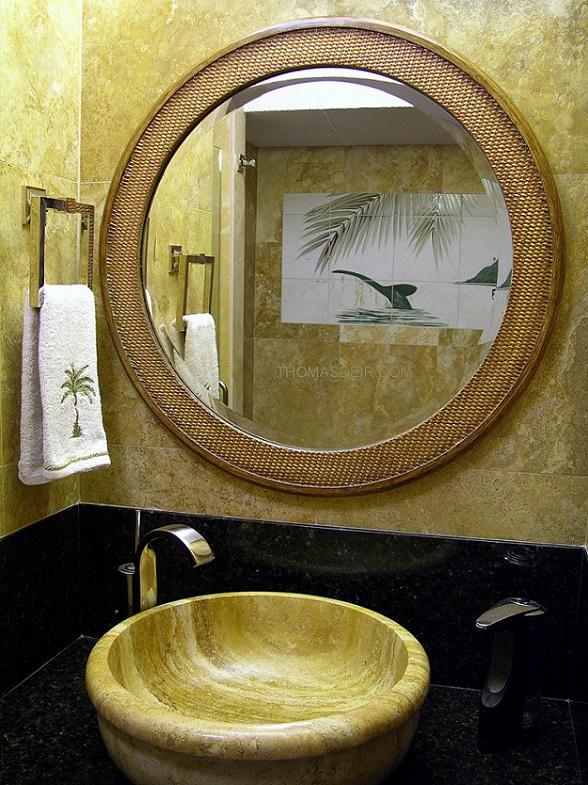 Bathroom Mirrors Honolulu bathroom tile murals – thomas deir honolulu hi artist