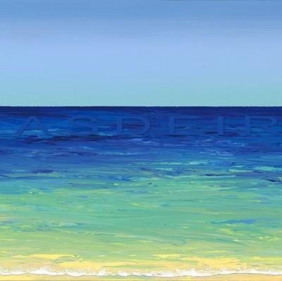 abstract beach paintings AO 10