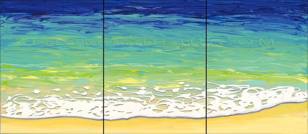 abstract ocean beach paintings AO 30