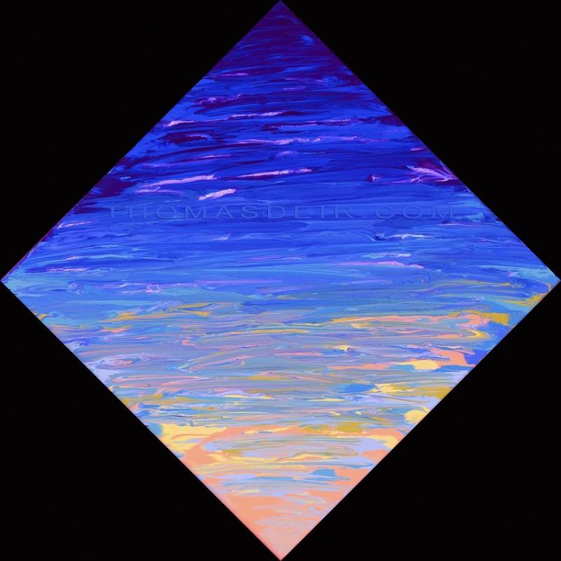 abstract ocean art AO 36.1